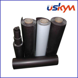 UV Oil Magnetic Rolls Rubber Magnet pictures & photos