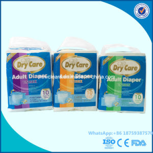 Soft Breathable Disposable Adult Diapers with High Absorbency pictures & photos