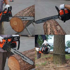 """62cc Professional Chain Saw with 25"""" Bar and Chain pictures & photos"""