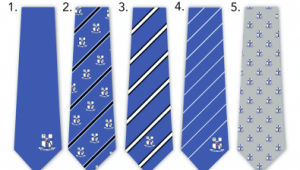Custom Made Logo Polyester Nigeria School Tie (A777)