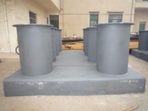 Marine JIS F Boat Ship Double Bitts Mooring Bollard pictures & photos