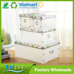 Custom Printed Multilayer Clear Luxury Giant Shoe Box with Logo pictures & photos