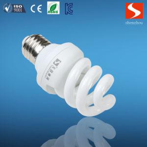 Ce RoHS Half Spiral 13W E27 6500k Energy Saving Light pictures & photos