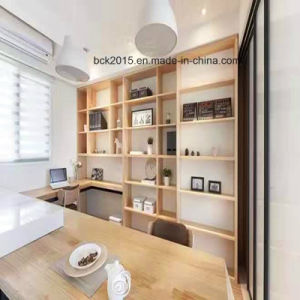 Fashion Modern Moistureproof Particleboard Bookcase Bk-11 pictures & photos