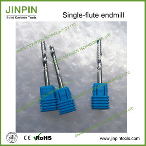Single-Flute End Mill for Soft Material Boards pictures & photos