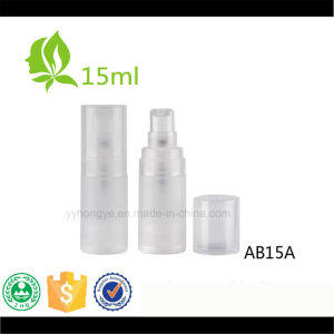 15ml 30ml 50ml Airless Bottle Plastic Cosmetic Airless Pump Bottle pictures & photos