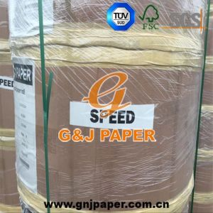 48GSM 323mm*7500m Thermal Paper in Jumbo Roll with Pallet Packaging pictures & photos