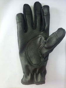 Non-Slippery Leather Gloves for Diving (HX-G0074) pictures & photos