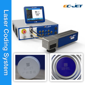 Non Contact Fiber Laser Printer with High Marking Speed (EC-laser) pictures & photos