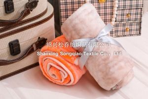 Embossing Flannel/Coral Fleece Blanket / Baby Products pictures & photos
