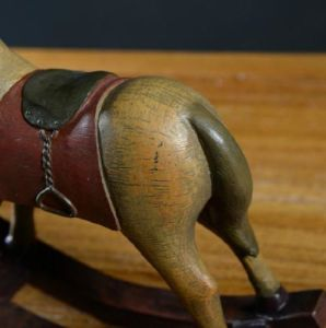 Quality Retro Rocking Horse Home Decoration Table Ornament Resin Figurine Statue pictures & photos
