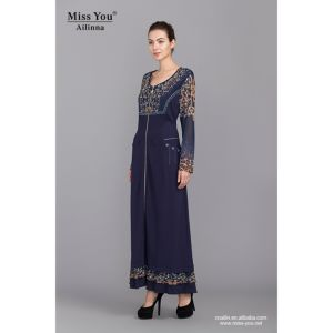 Miss You Ailinna 102871 Women Latested Design Muslim Dress pictures & photos