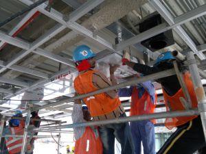Plus PVDF Aluminium Composite Panel / ACP (PF-421 Silver Project) pictures & photos