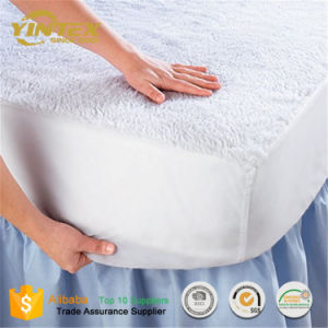 New Design Mattress Pad 100% Cotton/Terry Fitted Mattress Protector pictures & photos