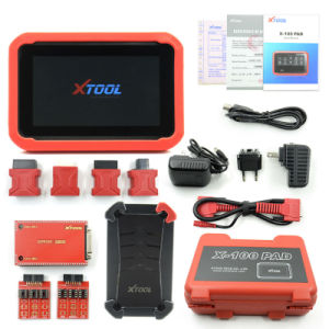 Original Xtool X-100 Pad Tablet Key Programmer with Eeprom Adapter Tablet Diagnostic Tool pictures & photos