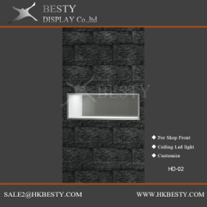 Customized Jewelry Window Display LED Showcase Box pictures & photos