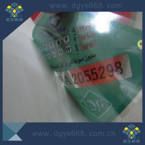 New Custom PVC Car Window Security Sticker pictures & photos