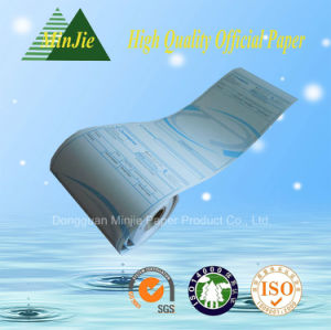 Bank Terminal Receipt Paper Rolls / Thermal Paper Rolls Supplier pictures & photos