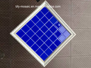 Marble Mosaic, Ceramic Mosaic Tile Crystal Glass Mosaic for Swimming Pool Tile (FYSN058EX) pictures & photos