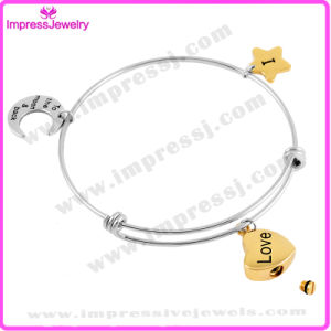 Stainless Steel Charms Bangles Bracelets for Women Memorial Jewelry pictures & photos
