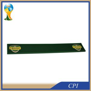 Custom High Quality Embossed Logo Soft PVC Rubber Beer Bar Mat pictures & photos