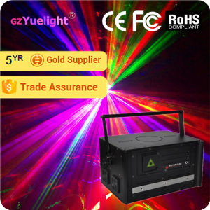 Guangzhou The Latest Price 5W Full Color Animation Laser Projector with Ce RoHS pictures & photos