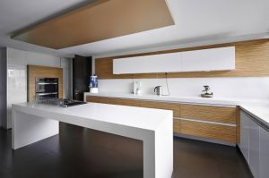 Chinese Factory Cheap Kitchen Solid Surface Countertop pictures & photos