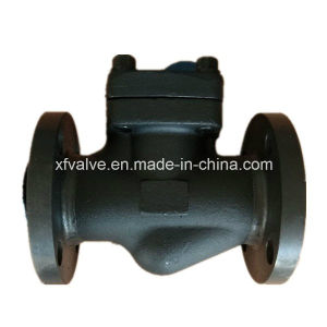 DIN Forged Steel A105 Flange Connection End Lift Check Valve pictures & photos