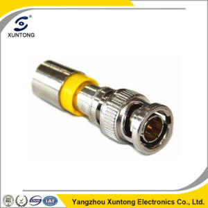 75 Ohm BNC Compression Connector for Rg59 RG6 Cable pictures & photos