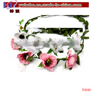 Flowers Garland Flower Artificial Flower Crown Yiwu China (P4040) pictures & photos