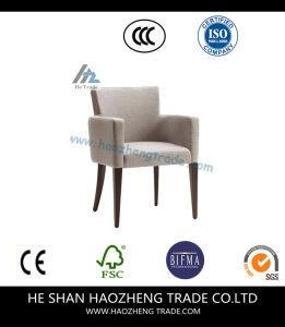 Hzdc163 Furniture Beige Linen Arm Chair pictures & photos