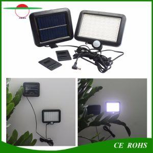 Outdoor LED Solar Powered 56 LEDs Solar Flood Light Garden Lights PIR Body Motion Sensor Solar Floodlights Spotlights Lamp pictures & photos
