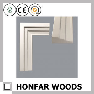 Primed Solid Wood Window Casing for Home or Hotel Decoration pictures & photos