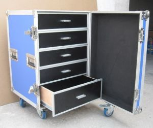 Aluminum Flight Case with Drawers