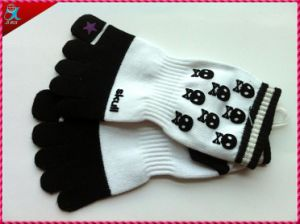 Custom Yoga Toe Socks Design pictures & photos
