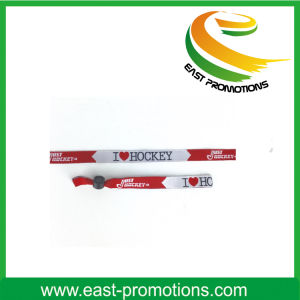 Custom Cheap Promotional Fabric Wristbands for Show pictures & photos