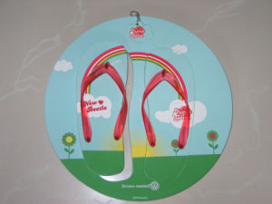 Circle Shape Board Flip Flop pictures & photos