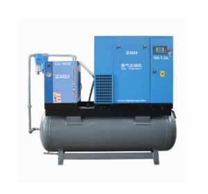 Portable Compact Mounted Air Compressor with Dryer pictures & photos