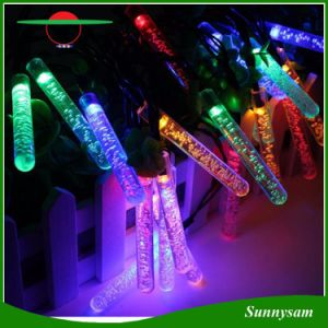 4 Colors 20/30/50 LED Solar String Lights Ice Piton Shaped Waterproof Outdoor Lamp for Christmas Garden Wedding Holiday Lighting pictures & photos