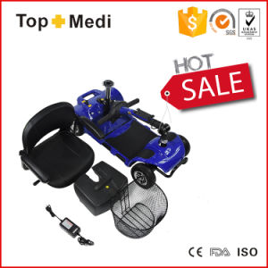 High Quality Electric Power Easy Move Foldable Mobility Scooter for Disabled and Adults pictures & photos