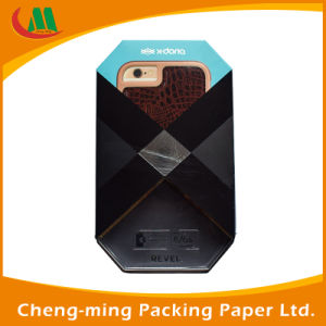 Chinese Quality Black Luxury Custom Phone Case Packaging Paper Box pictures & photos