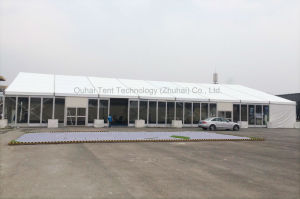 Event Promotion Tent in 18m X 40m Size with Glass Wall System