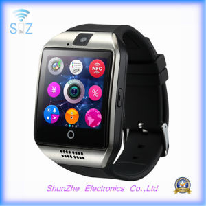 Bluetooth Q18 Phone Call Fashion Alarm Clock Andriod Smart Watch with Multi-Function pictures & photos