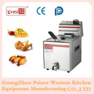 12L Commercial Stainless Steel Electric Deep Fryer with Drain Taps pictures & photos