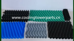 Blue PVC Cooling Tower Infill pictures & photos