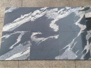 Fantasy Black Granite Tile/Slab for Decoration pictures & photos