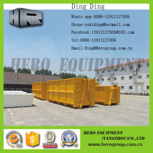 Roll off Container Garbage Container Roll on off Container Hook Lift Bin pictures & photos