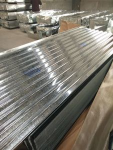 L Hard Galvanized Roofing Sheets Price with Big Wave Sheet pictures & photos