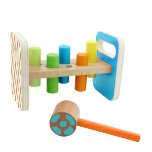 Hot Christmas Gift Wooden Punch Peg Toy for Babies and Kids pictures & photos