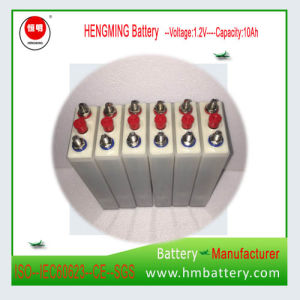 2017 Hengming Nickel Cadmium Rechargeable Battery Gn/Kpl Series (Ni-CD 1.2VDC 10Ah Battery) pictures & photos